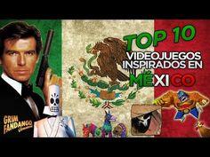 TOP 10 VIDEOJUEGOS INSPIRADOS EN MÉXICO | MES PATRIO | ROKZZ GAMER