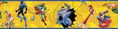 Batman Brave and The Bold Wall Border - Wall Sticker Outlet