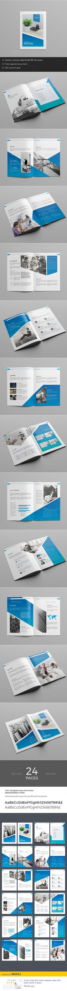 M Brochure  — InDesign Template • Only available here ➝…
