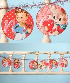 Bayberry Cove - Retro Be Mine Garland, $24.97 (http://bayberrycove.com/retro-be-mine-garland)