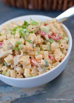 Fireworks Pasta Salad with Cayenne...sounds delish...especially if you like a flavor kick like I do :)