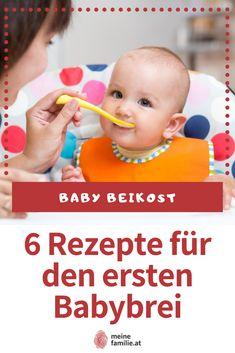 Für Babys und Kinder ist eine gesunde Ernährung unumgänglich, besonders in den ersten Lebensjahren. Deshalb haben wir sechs einfache und schonende Rezepte, die perfekt als erste Beikost für das Baby dienen. Babys, Children, Kids, Complete Nutrition, Kid Recipes, Parenting, Healthy Food, Babies, Young Children