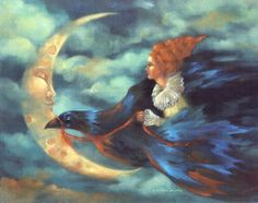 art by Marcia Snedecor images | Night Flight by Marcia Snedecor | MMC