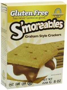 OK someone posted a recipe on FB, and it is awesome sounding and gluten free (from reading ingredients).  It called for graham crackers to use to dip, and this is promising I found some, will keep looking.. mmmm...Amazon.com: Kinnikinnick S'moreables Graham Style Crackers -- 8 oz: Health & Personal Care