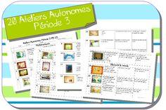 Ateliers Autonomes Période 3 MS-GS