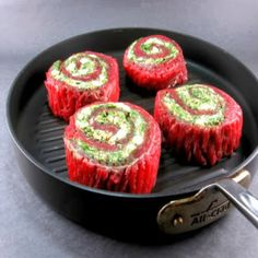 One Perfect Bite: Stuffed Flank Steak Spirals - Pink Saturday