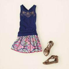 girl - outfits - perfect in paisley | Children's Clothing | Kids Clothes | The Children's Place