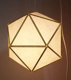 japanese paper and chopsticks lamps DIY