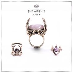 The Witch's Hawk rings
