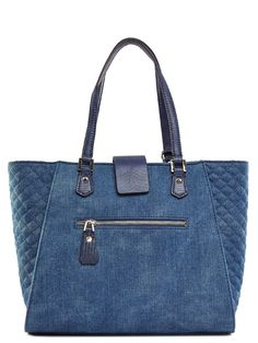GUESS Women's Kalen Carryall Denim Tote: Handbags: Amazon.com More Clothing, Shoes & Jewelry : Women : Handbags & Wallets : http://amzn.to/2jBKNH8