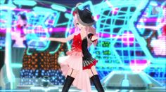 Here are a few screenshots of the Ivy Moulin module for Luka (designed by Rella), taken from the PlayStation Vita version of Hatsune Miku: Project DIVA X. While a lot of the modules in the game are recycled from the Project DIVA F games, some of the newer ones do stand out in terms of detail and design. It'll be interesting to see how they look in the upcoming PlayStation 4 version.