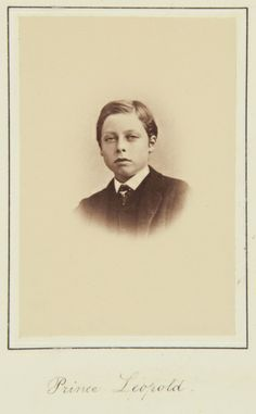 Prince Leopold, November 1866 [in Portraits of Royal Children Vol.10 1866-67] | Royal Collection Trust