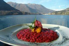 La ricetta perfetta dello chef: riso rosso di rapa e cozze al vapore