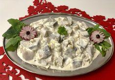 Cake Recipes, Snack Recipes, Snacks, Polish Recipes, Seafood Dishes, Feta, Camembert Cheese, Potato Salad, Dairy
