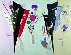 "Wassily Kandinsky - ""Reciprocal Accords"", 1942"