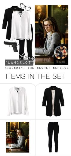 """Roxy ""Lancelot"" - Kingsman: The Secret Service // America Singer"" by warrior-girls ❤ liked on Polyvore featuring art, roxy, Lancelot and kingsman"