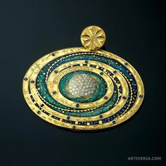 """Cosmos Pendant"""