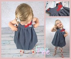Nähanleitung: E-Book für ein Ballonkleid mit Innenkleid / sewing tutorial: eBook for a balloon dress made by FeeFee via DaWanda.com