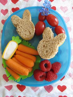 creative kid meals, easter