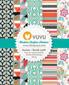 Surtex Banner by Yuyu on Print & Pattern