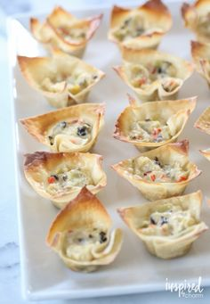 Artichoke Wonton Wrappers - delicious appetizer recipes