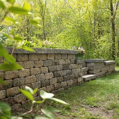 A retaining wall can be a perfect way to add visual interest to your backyard: http://www.bhg.com/home-improvement/outdoor/retaining-walls/build-a-retaining-wall/?socsrc=bhgpin022814retainingwall&page=2