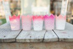 DIY ombre candle votives - The House That Lars Built