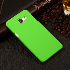 """Matte Rubberized Hard Plastic Case For Samsung Galaxy A5 2016 A510 A510F 5.2"""" Back Cover Mobile Phone Protective Bag"""