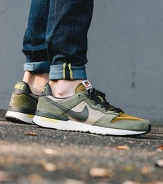 outlet store 76ca6 1a894 Nike Archive 83  Medium Olive Adidas Shoes Outlet, Sneaker Stores, Sneaker  Magazine,