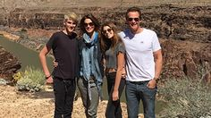 Cindy Crawford's Gorgeous Family Is Picture Perfect While Visiting the Grand Canyon
