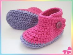 Flower Power, Baby Kind, Making Ideas, Baby Shoes, Slippers, Clothes, Fashion, Lilac, Flower Crochet