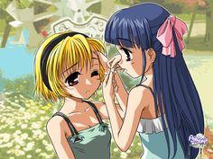 furude_rika higurashi_no_naku_koro_ni houjou_satoko When They Cry, High Resolution Wallpapers, Crazy Girls, Dark Anime, Anime Shows, Crying, Manga, Free, Manga Anime