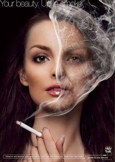 Oh my god! Wat roken met je huid doet- al die vrije radicalen doen je huid roesten!