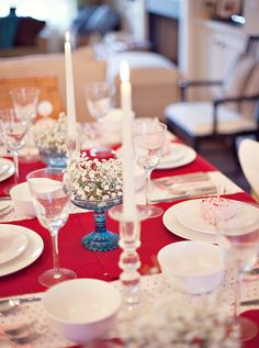 Sweet & Simple Valentine's Day Dinner Party // Hostess with the Mostess®