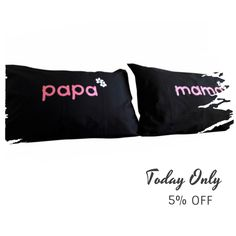 Today Only! 5% OFF this item.  Follow us on Pinterest to be the first to see our exciting Daily Deals. Today's Product: ON SALE - 3N- PaPA-MAMA!!. Bed Pillow Cases / Covers Buy now: https://www.etsy.com/listing/454137302?utm_source=Pinterest&utm_medium=Orangetwig_Marketing&utm_campaign=christmans   #etsy #etsyseller #etsyshop #etsylove #etsyfinds #etsygifts #pillowcases #pillowcovers #originalgift #photooftheday #instacool #onlineshopping #musthave #instashop #instafollow #shopping…