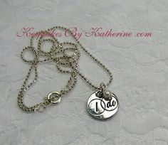 I Do Necklace by Keepsakes By Katherine
