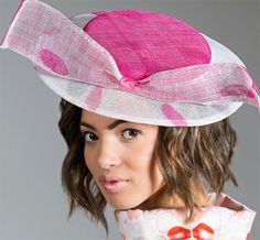 Forme Millinery. Perfect for the Kentucky Oaks!