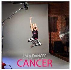 Autumn miller I am a dancer against cancer