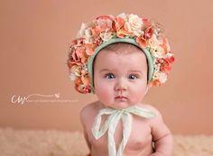 Image of Felicity Floral Bonnet