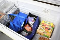 Tired of never knowing what's at the bottom of your deep freezer? Organizing a chest freezer is actually pretty simple, if you know the right tips and tricks! Check out these 9 clever (and inexpensive) ways to organize a chest freezer!