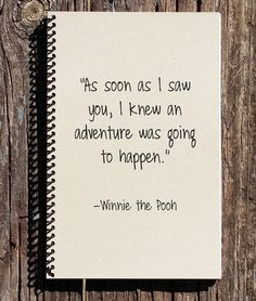 Winnie the Pooh Journal Winnie the Pooh by CulturalBindings # winnie the pooh Quotes Winnie the Pooh Journal - Winnie the Pooh Notebook - Winnie the Pooh - Memories Book - I'll Stay in Your Heart - Keep me in Your Heart Bff Quotes, Best Friend Quotes, Disney Quotes, Best Friend Gifts, Cute Quotes, Friendship Quotes, Gifts For Friends, Heart Quotes, Boyfriend Gifts