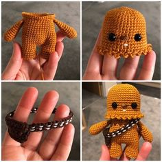 Star Wars Crochet, Crochet Stars, Crochet Geek, Cute Crochet, Beautiful Crochet, Crochet Hooks, Crochet Baby, Crochet Patterns Amigurumi, Crochet Blanket Patterns