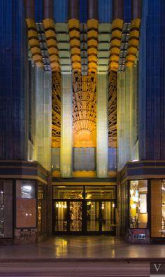 art deco architecture Architecture Tumblr, Architecture Art Nouveau, Architecture Design, Art Deco Buildings, Modern Buildings, Beautiful Buildings, Art Deco Home, Art Deco Era, Estilo Art Deco