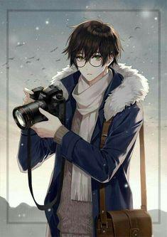 Guy style 687995280555718395 - Glasses Boy Anime Guys 41 Ideas Source by Garçon Anime Hot, Art Manga, Chica Anime Manga, Manga Boy, Manga Drawing, Anime Art, Camera Drawing, Anime Boys, Cool Anime Guys