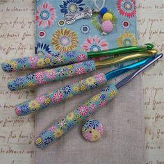 colorful Crochet Hook