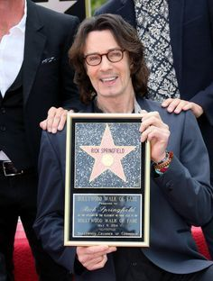 Rick Springfield (The Hollywood Walk Of Fame)...FINALLY!