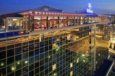 Vu du Cloud 9 – Sky Bar & Lounge sur le toit de l'hôtel Hilton