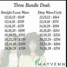 Follow, shop, support. Instagram @Isces_Couture for bundle deals visit iscescouture.mayvenn.com