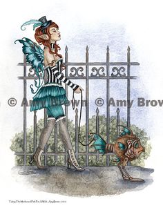 Fairy Art Artist Amy Brown: The Official Online Gallery. Fantasy Art, Faery Art, Dragons, and Magical Things Await. Amy Brown Fairies, Elves And Fairies, Steampunk Fairy, Gothic Fairy, Science Fiction, Gothic Fantasy Art, Fantasy Artwork, Magical Creatures, Woodland Creatures