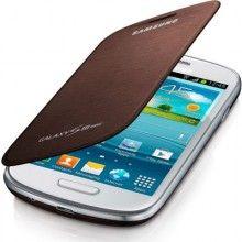 Custodia Samsung Galaxy S3 Mini Originale Flip Cover - Marrone  € 19,99